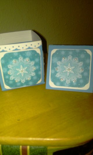 Snowangle box and giftcard