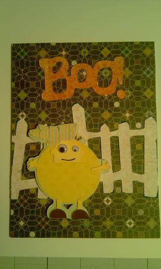 Boopumpkin card
